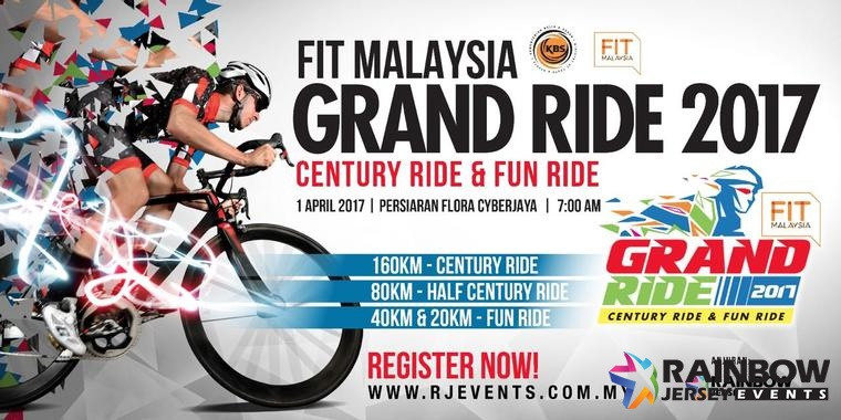 Fit Malaysia Grand Ride 2017 - 1 April 2017