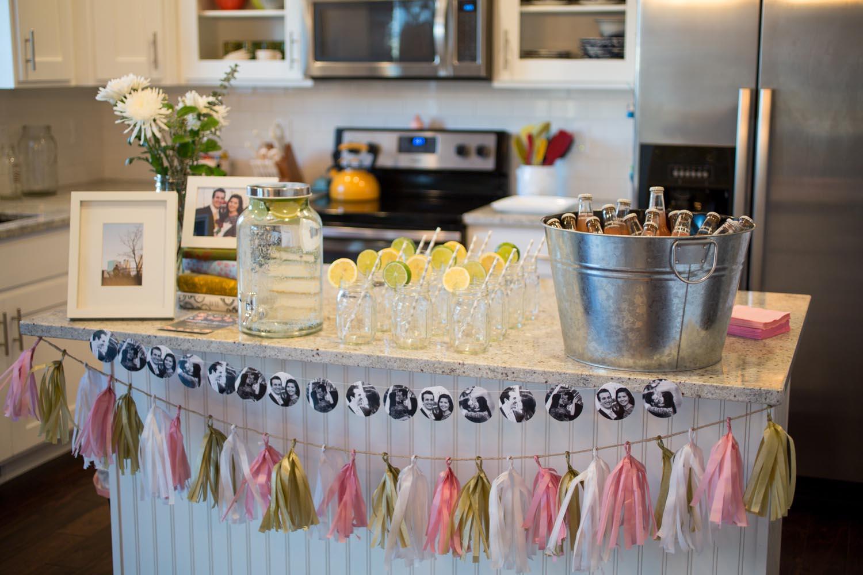 Bridal Shower Drink Bar