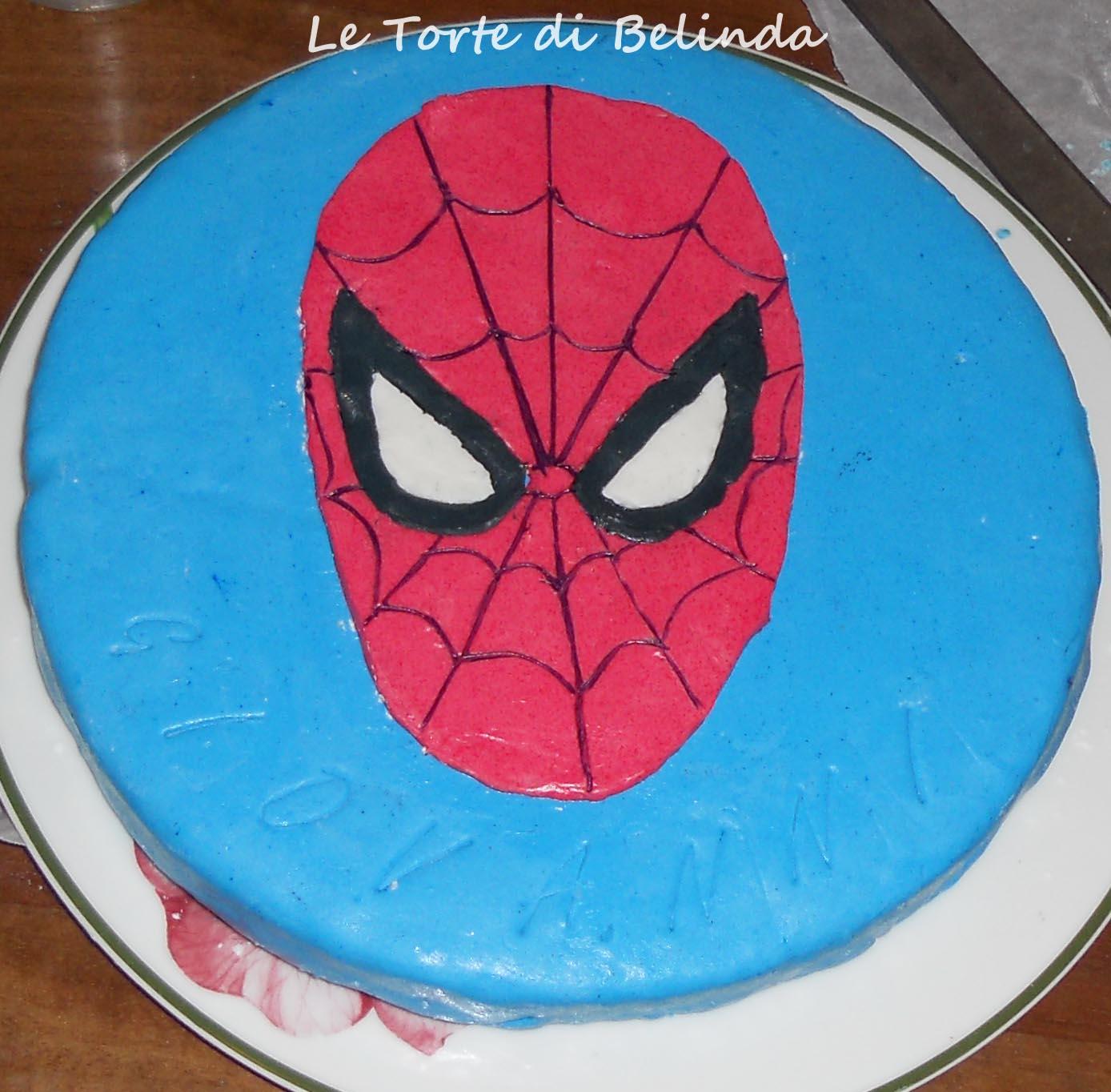 Le torte di belinda ma non solo spiderman for Decorazione torte spiderman