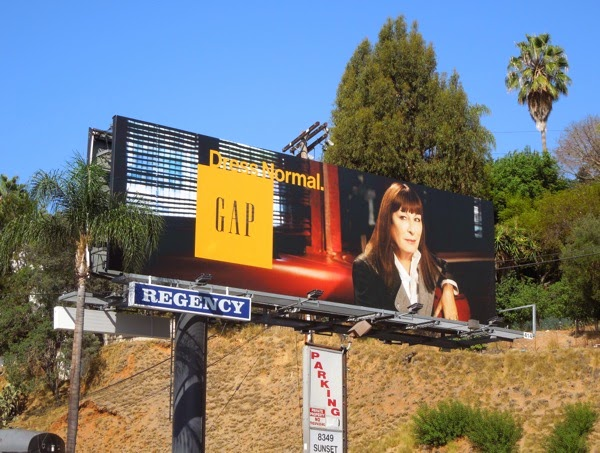 Gap Dress Normal Angelica Huston billboard