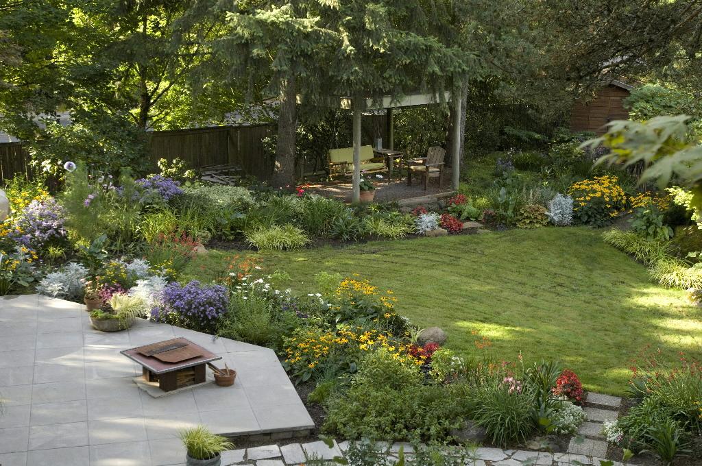 Meg henning backyard inspirations for Garden makeover on a budget