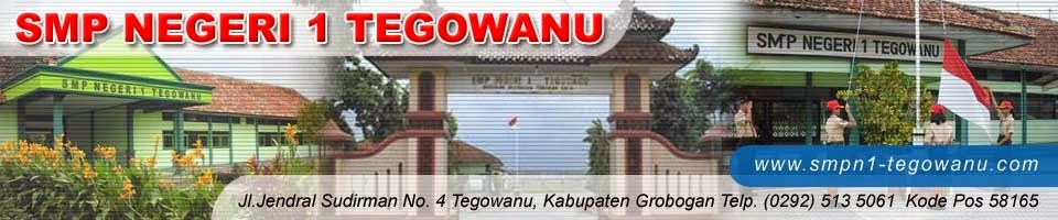SMP Negeri 1 Tegowanu Official Website