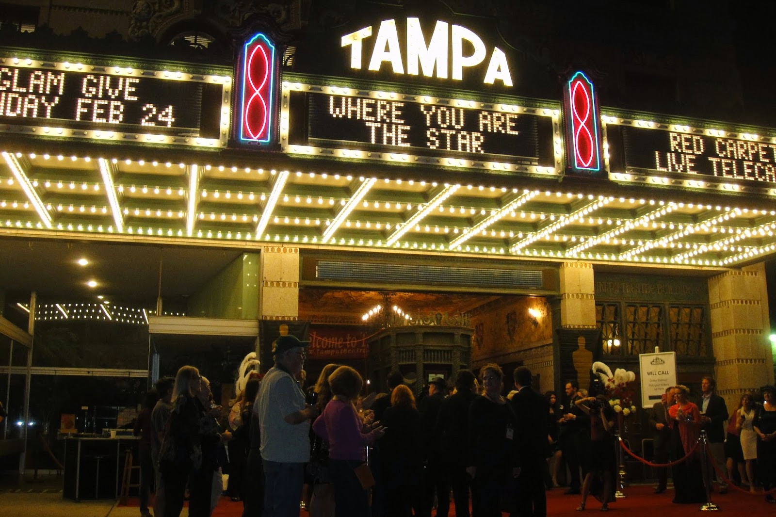 tampa theater rolls out red carpet for the oscars my