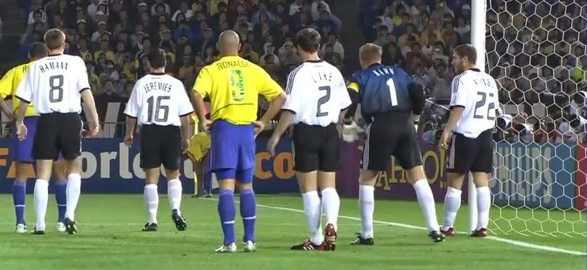 Ronaldo versus Kahn, Japón-Japan, 2002