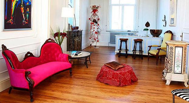 en casa de Gèrard Depardieu