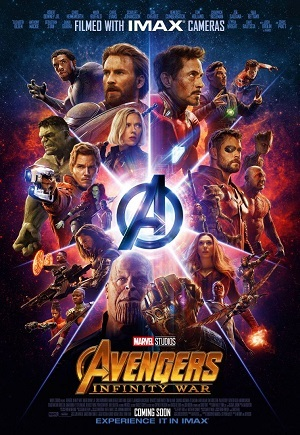 Vingadores - Guerra Infinita - IMAX Open Matte Filmes Torrent Download capa