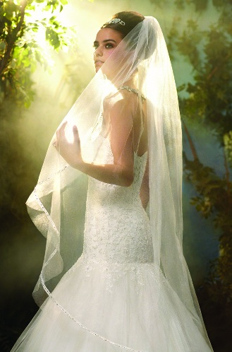 Official Disney Bridal Veils from Alfred Angelo - Cinderella