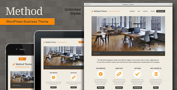 Method WordPress Theme Free Download by ThemeForest.