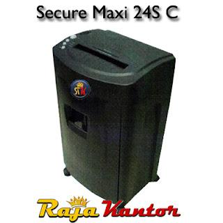 Mesin Penghancur Kertas Secure Maxi 24 SC
