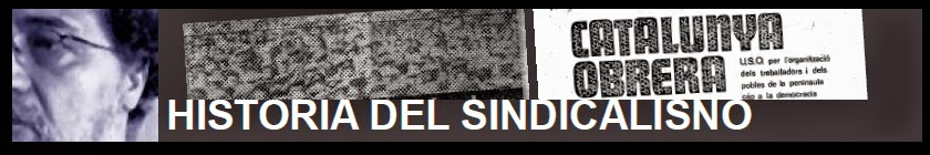 HISTORIA DEL SINDICALISMO 1950-1976