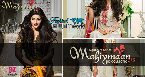 Mahiymaan Signature Series Eid Collection 2015 Al-Zohaib Textile