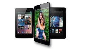 iPad Mini vs. Google Nexus 7 vs. Amazon Kindle Fire HD