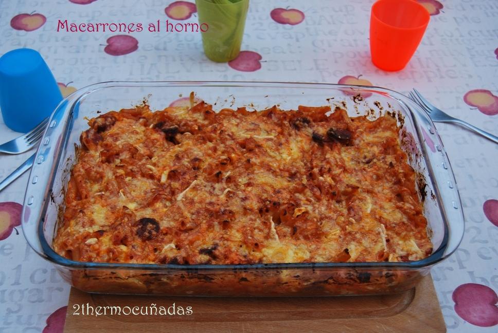 2thermocu adas macarrones al horno - Macarrones con verduras al horno ...