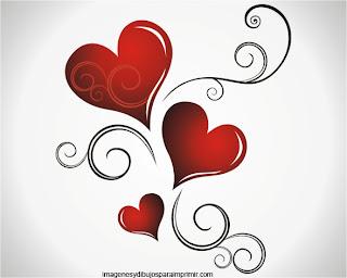 corazones elegantes