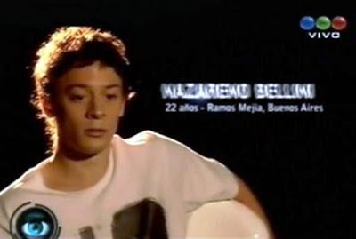 Nazareno bellini gh 2012 historia morena pearson daniel bellini