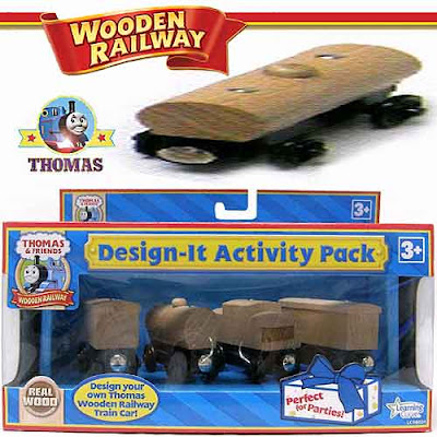 Home hobbies scale model Thomas the tank engine and Friends Wooden Railway Design-It Activity Kit