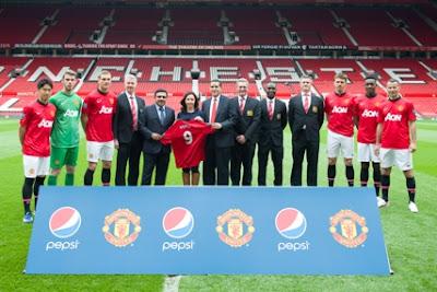 Pepsico, nuevo partner oficial del Manchester United en Asia