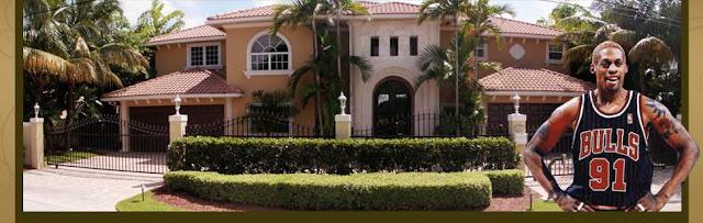 NBA star Dennis Rodman's House for sale