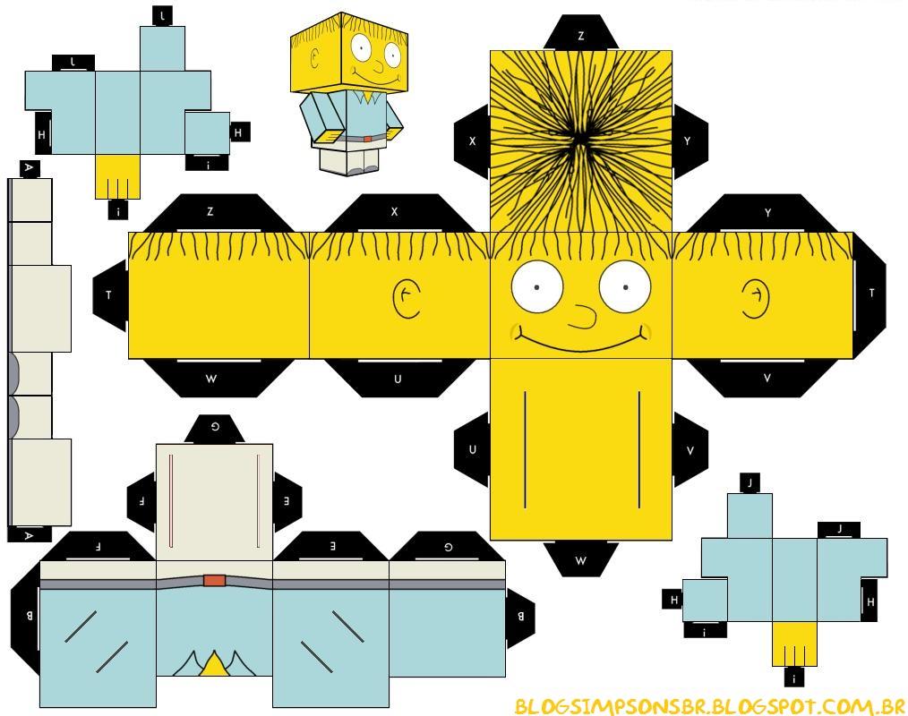 Как сделать робота из бумаги без принтера