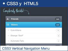 Orman Clark's CSS3 Vertical Navigation Menu