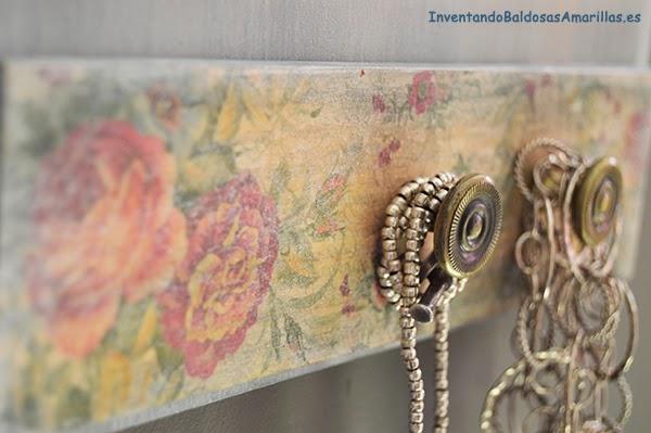 Flores vintage para decorar madera