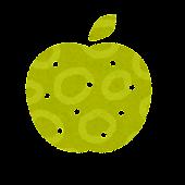 秋のマーク「梨」
