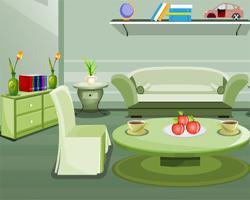 Solucion Modern Green Room Escape Guia