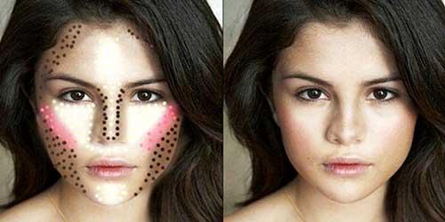 Como maquillarte segun la forma de tu rostro: rostro triangular