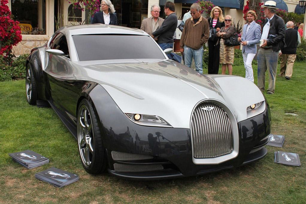 FAB WHEELS DIGEST (F.W.D.): 2011 Morgan EvaGT Concept