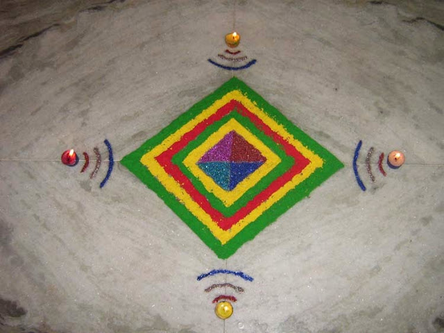Diwali Rangoli Wallpapers Free Download