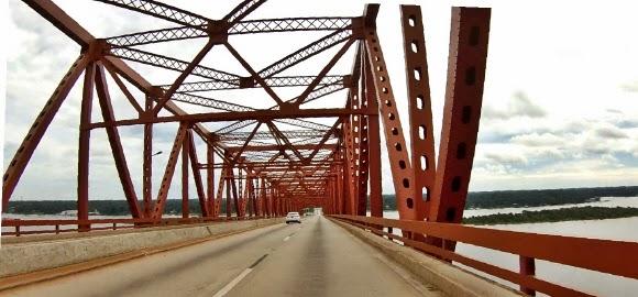 Mathes Bridge in Jacksonville über St Johns River Florida