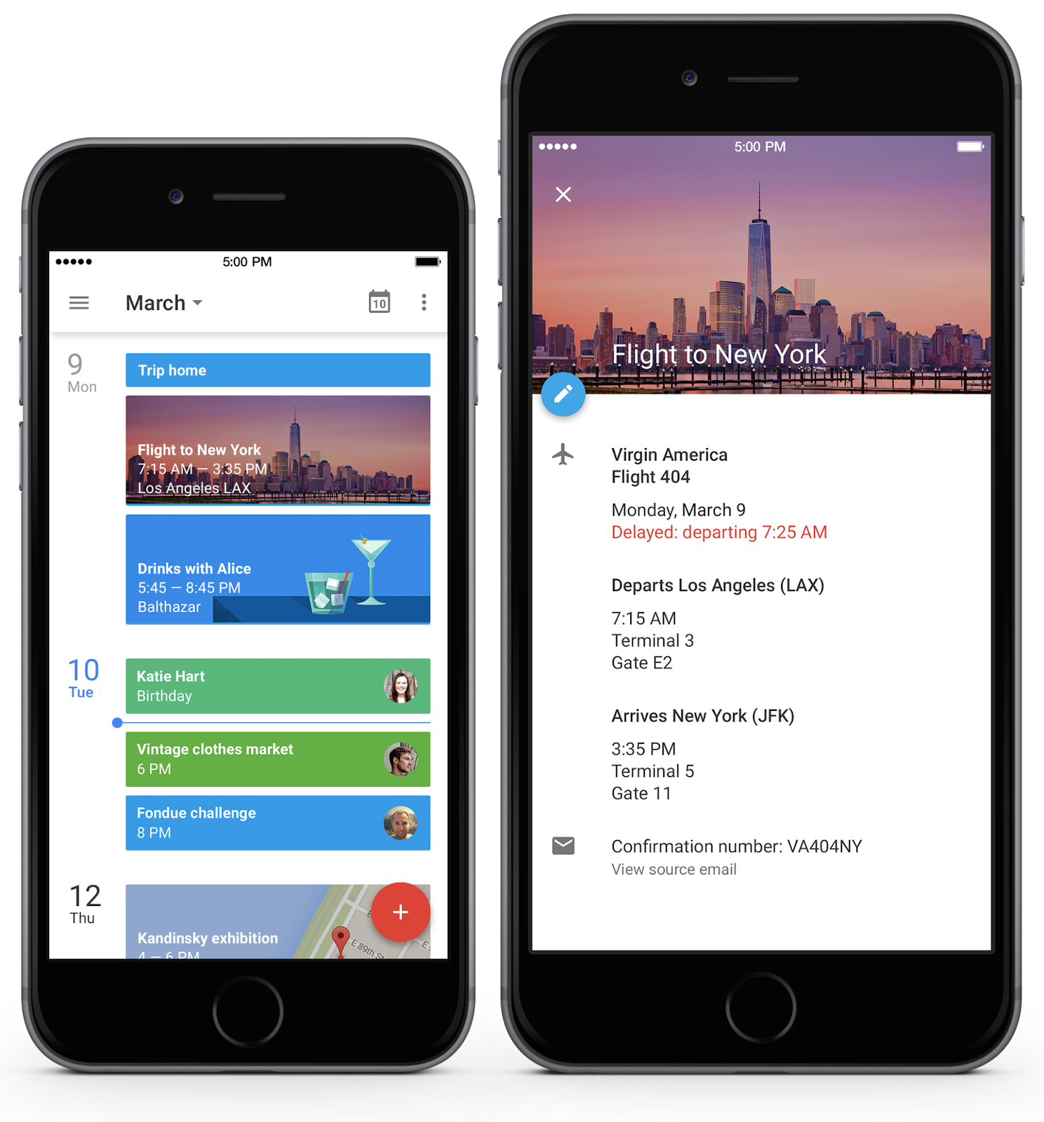 Calendar App Android : Official gmail google calendar for iphone it s