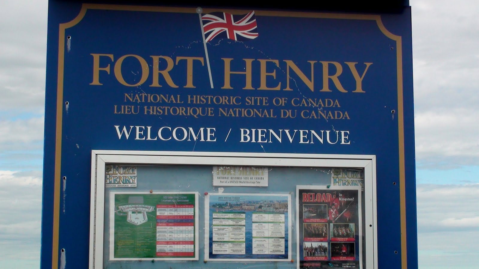 Sign of Fort Henry