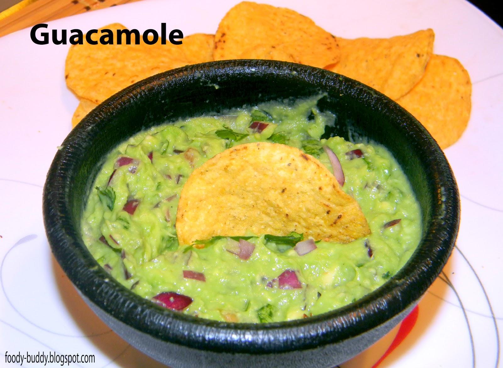 Foody - Buddy: Guacamole - Authentic Mexican Avocado Dip
