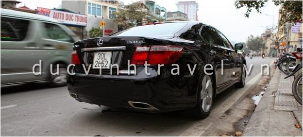 Cho thuê xe cưới VIP Lexus LS460 tại Hà Nội 1
