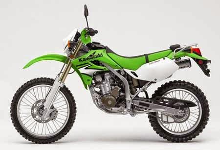 Gambar Motor Cross Kawasaki KLX