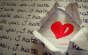 who claims to love you and only. You are rejecting. the love, the happiness, hate you or love you