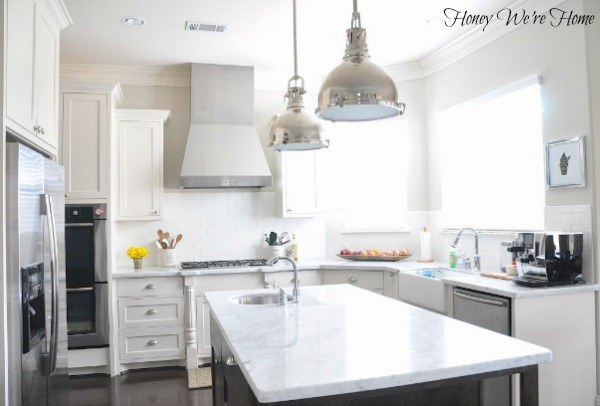 clean & clear kitchen counters | honey we're home | bloglovin'