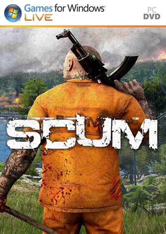SCUM PC Game poster box cover