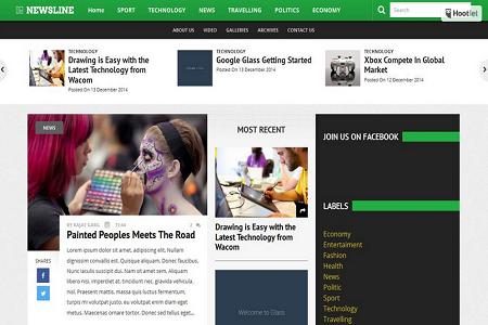 free seo optimized adsense ready blogger template