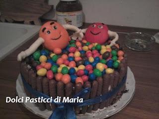 torta m&m' s