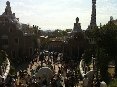 Parc Guell Barcelona Espanha