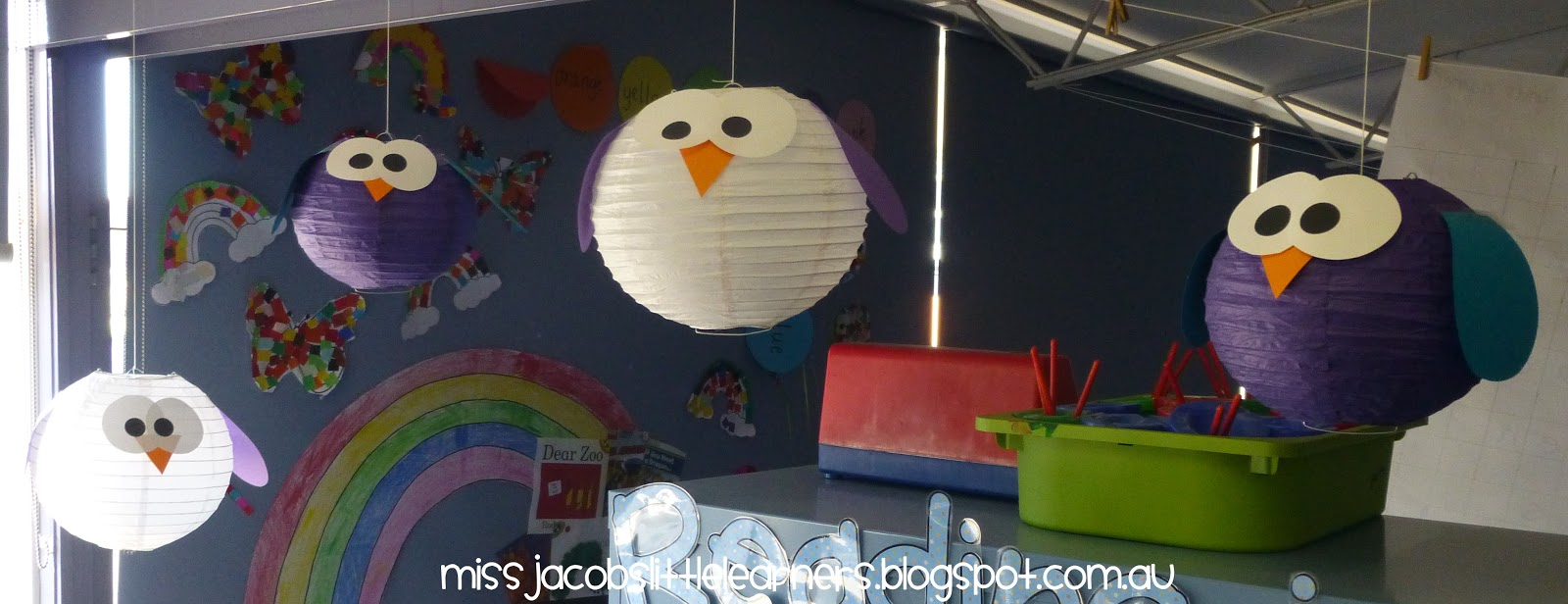 Miss Jacobs Little Learners Owl Themed Classroom Library