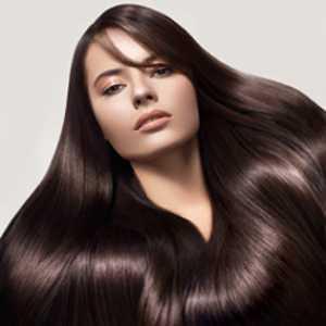 rambut subur dan mengkilap dengan minyak kelapa
