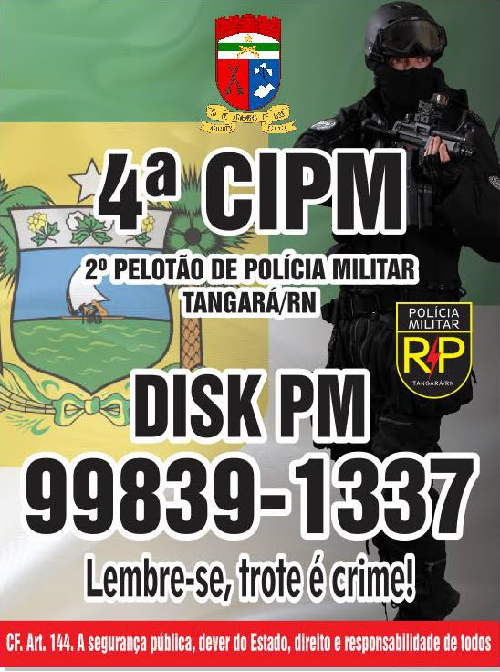 POLÍCIA MILITAR DE TANGARÁ/RN