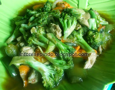 Cara Membuat Tumis Brokoli Campur Paprika Enak