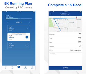 Fitness App of the Week - 5k Running Training Plan