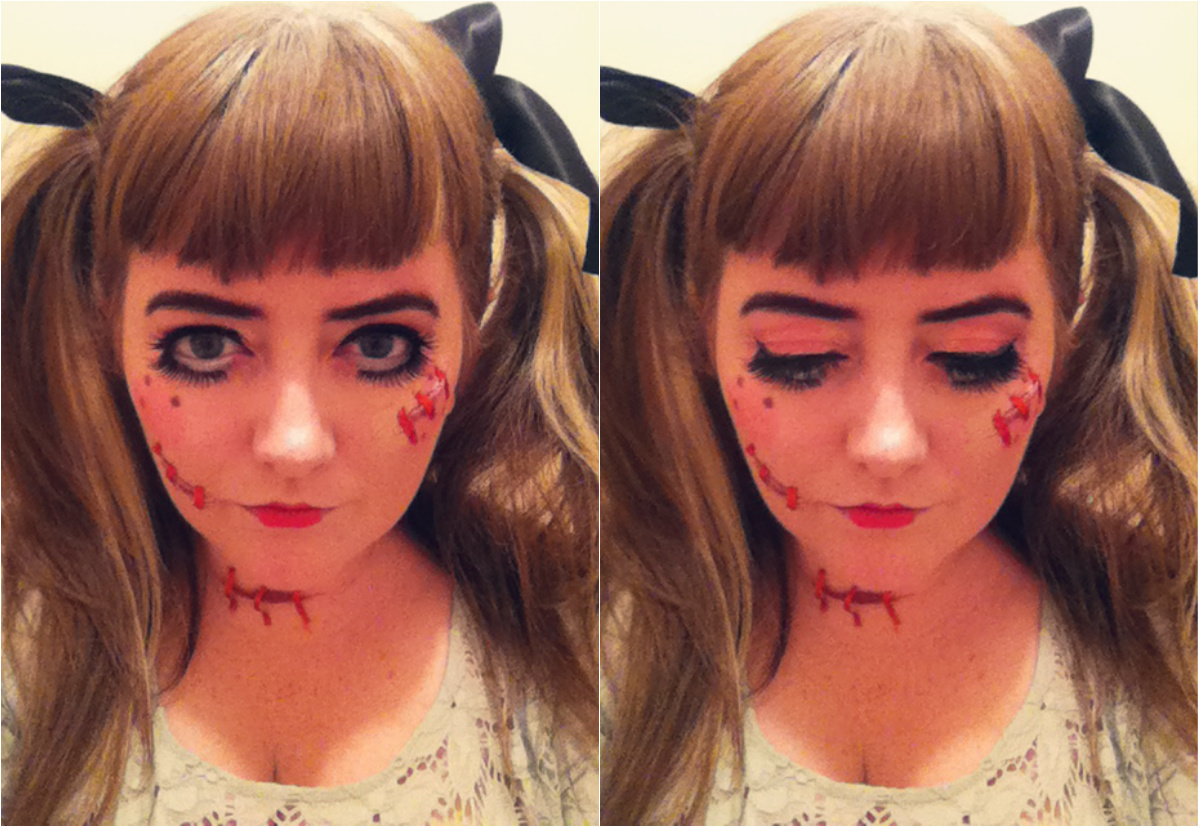 ever so juliet | uk lifestyle, beauty & baking blog: scary doll