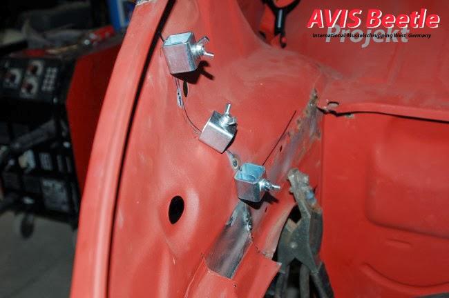 Vorderwagen Umbau auf lange Haube / AVIS Beetle Projekt