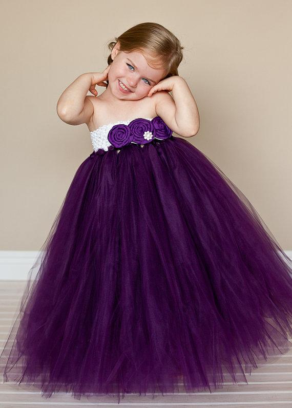 Vestidos de tul para niña - Imagui